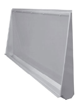 Wall To Floor Mounted Safety Stainless Steel Urinal Trough