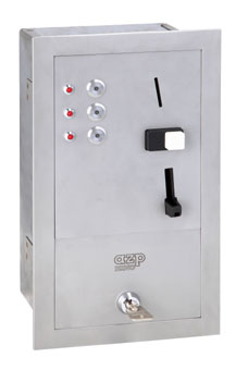 MAS 2 coin automat for 2 - 8 showers