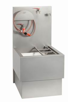 Janitor Sink : Janitor+Sink VLK 03 stainless bucket sink to discharge chemical WCs ...